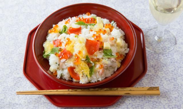 春の洋風ちらし寿司